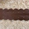 Fita de corino marrom 2,5cm